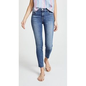 J Brand Women Alana High Rise Crop Skinny Jeans